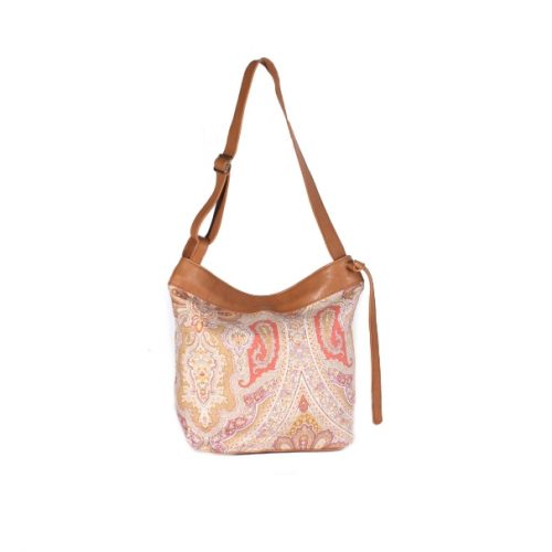 CERVINO PAISLEY CAMEL FRONTAL